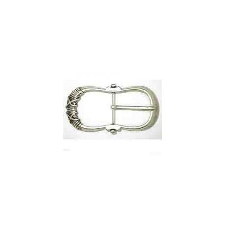 Hebilla Cinturón de 40 mm Níquel. Ref 9840