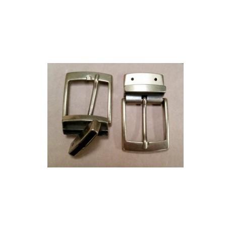 Hebilla para Cinturón Reversible 35 mm. Oro Viejo con Tornillo