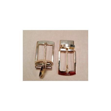 Hebilla para Cinturón Reversible 30 mm. de Grapa Dorado