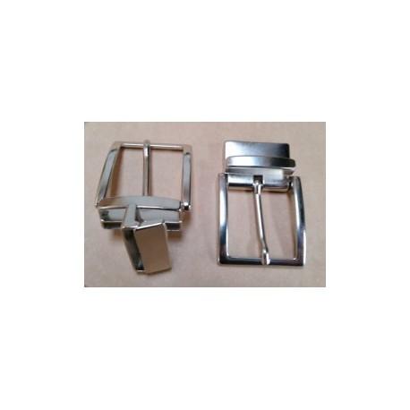 Hebilla para Cinturón Reversible 3,5 cm. NIQUEL
