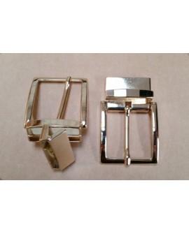 Hebilla para Cinturón Reversible 3,5 cm. Dorado