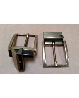 Hebilla para Cinturón Reversible 3,5 cm. Oro Viejo