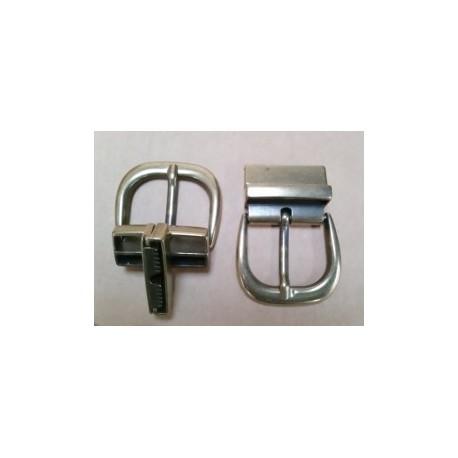 Hebilla para Cinturón Reversible 4 cm. Oro Viejo