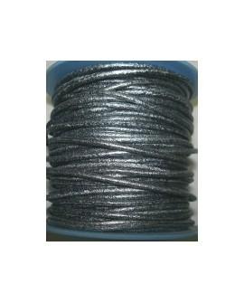 Rollo 25 mts. Cordón Cuero Nacional 2 mm. ESPECIAL P VIEJA. Ref 20784