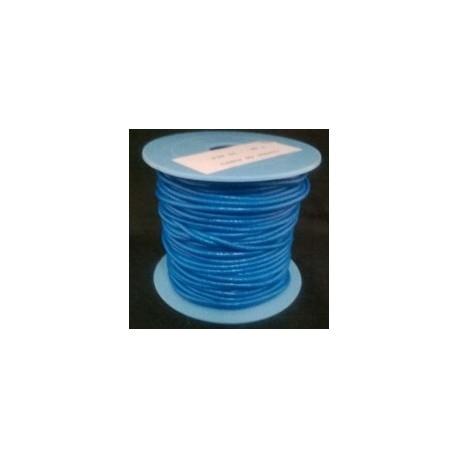 Rollo 25 mts. Cordón Cuero Nacional 1,5 mm. ELÉCTRICO. Ref 20901