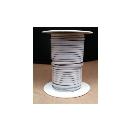 Tireta Plana Piel  3,5 mm. AZURRO. Ref 21032