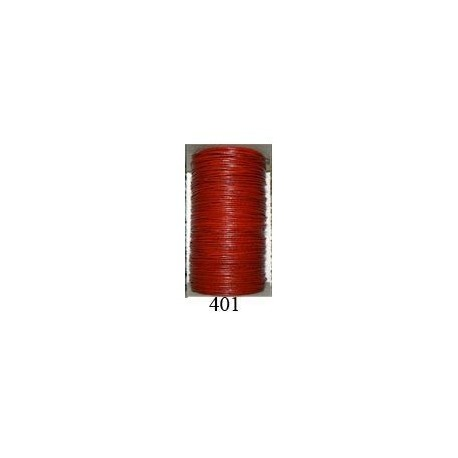 Cordón Cuero Piel Canguro 1 mm. 401. Por metro. Ref 21218