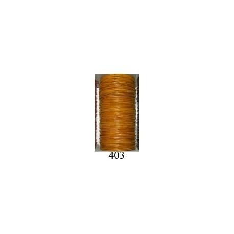 Cordón Cuero Piel Canguro 1 mm. 403. Por metro. Ref 21219