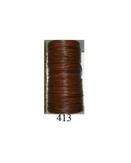 Cordón Cuero Piel Canguro 1 mm. 413. Por metro. Ref 21220