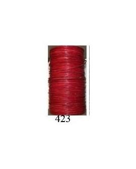 Cordón Cuero Piel Canguro 1 mm. 423. Por metro. Ref 21222