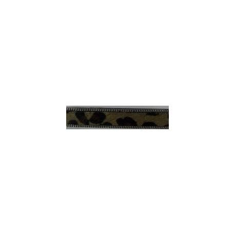 Tira Pelo + Ribete 9 mm. LEOPARDO comb1. Ref 21245