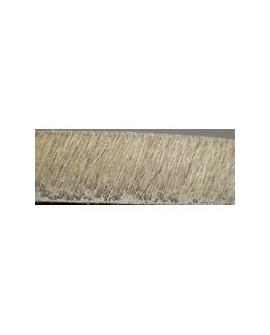 Tireta Plana de Pelo 10 mm. BEIGE (SPIGA). Ref 21650