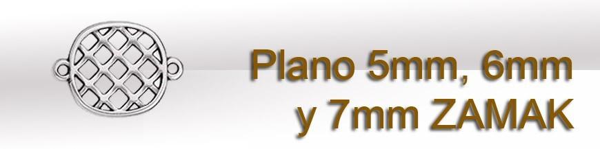 Plano 5mm 6mm y 7mm ZAMAK