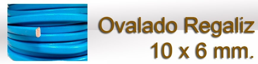 Ovalado Regaliz 10 x 6 mm