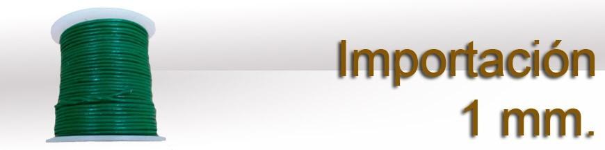 Importación 1 mm