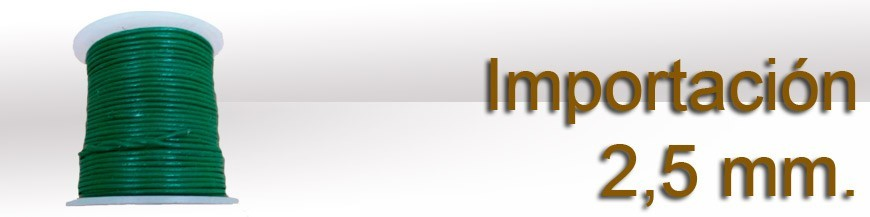 Importación 2.5 mm