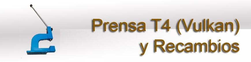 Prensa t-4 (vulkan) y Recambios